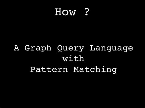 pattern matching neo4j neo4j loves gt cypher