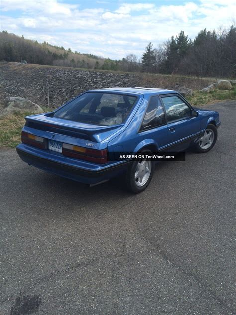 1988 ford mustang lx 5 0 1988 ford mustang lx hatchback 2 door 5 0l