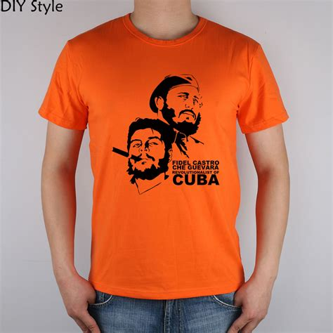 T Shirt High Quality che guevara cuba cuban t shirt cotton lycra top t shirts high quality t shirt in t shirts