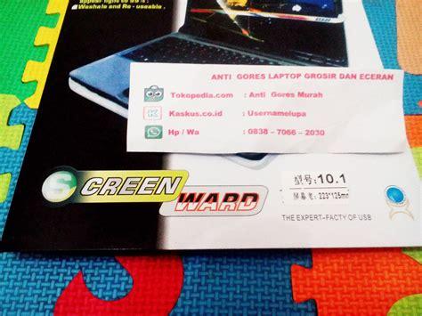 Lcd Protector Ukuran 3 Inch jual anti gores laptop netbook ukuran 10 1 inch grosir dan
