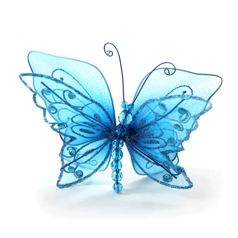 Home Decor Candle Lanterns Turquoise Butterfly Wedding Decor Floral Centerpieces Ideas