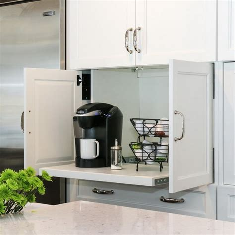 kitchen appliance storage 42 creative appliances storage ideas for small kitchens