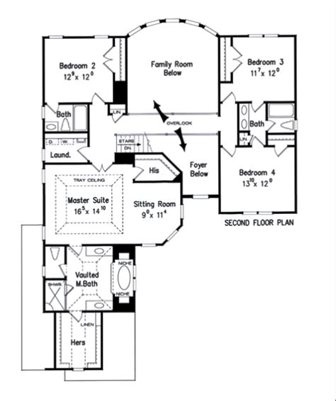 Frank Betz Floor Plans by Summerlyn House Floor Plan Frank Betz Associates