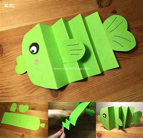 Paper And Craft - easy paper craft ideas for with diy tutorials