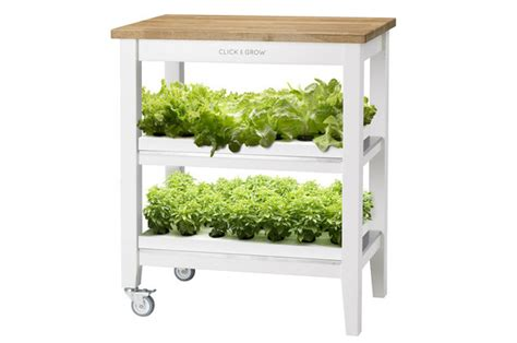 grow your very own smart garden with click grow grow your own veggies in your apartment with the robot garden