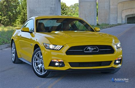 anniversary mustang 2015 2015 ford mustang gt 50th anniversary edition review