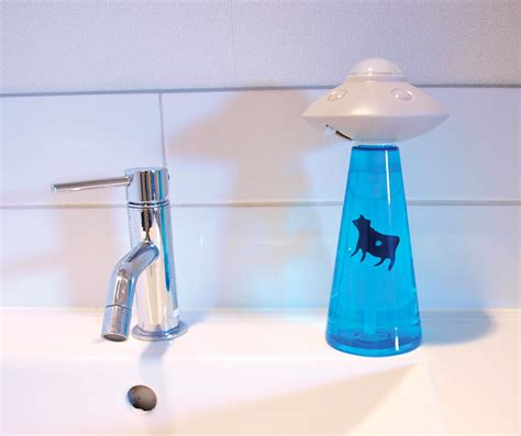 Dispenser Ufo abduction soap dispenser