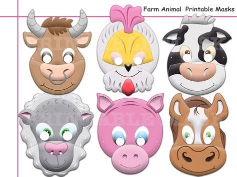 printable animal photo booth props unique barnyard animals farm printable holidaypartystar