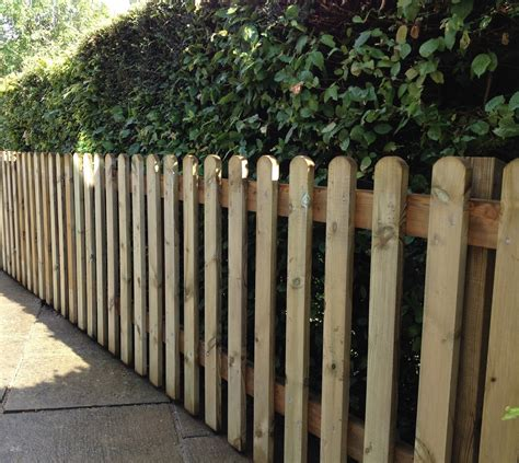 picket fences wooden picket fencing sold per metre kudos fencing supplies