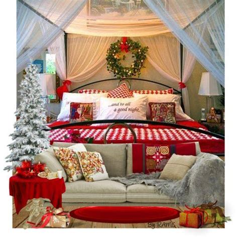 christmas tree in bedroom 40 beautiful christmas d 233 cor bedroom ideas to transform