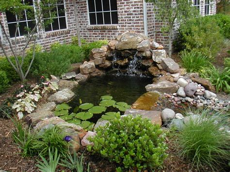 ponds and waterfalls for the backyard pictures of small garden ponds and waterfalls the garden