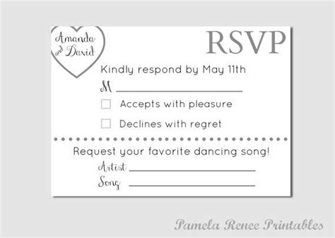 Wedding Song Request Form by 55 Best Images About Wedding Paper On Wedding