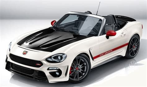 new fiat abarth 124 spider convertible sports cars for