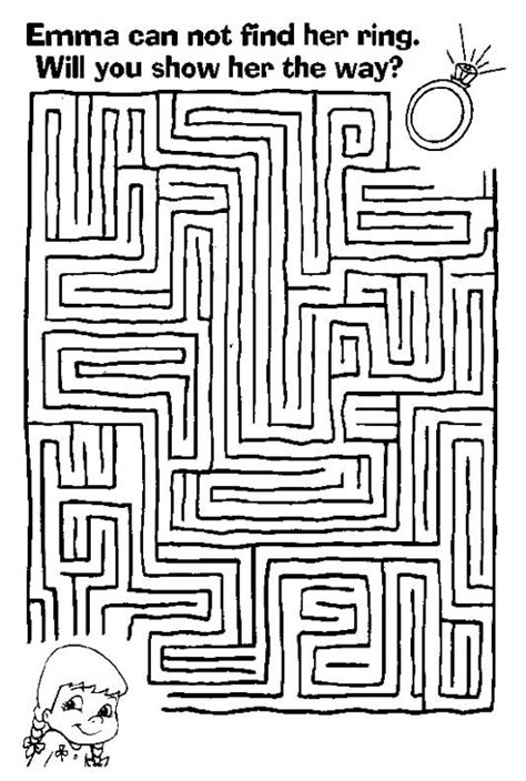 a4 printable maze free printable mazes for kids at allkidsnetwork com