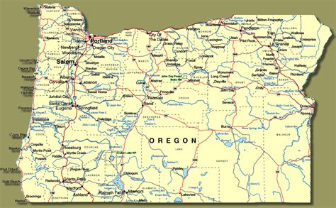 kentucky hpsa map map of oregon towns 28 images large roads and highways