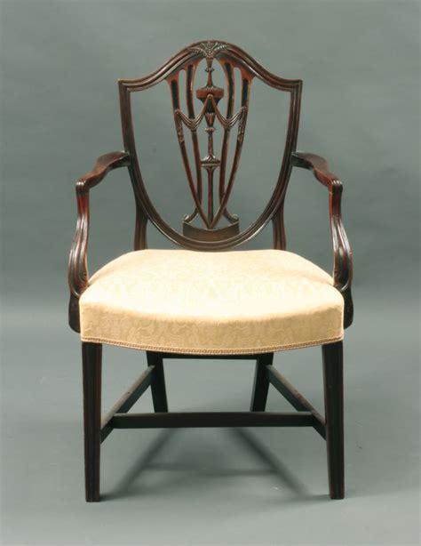 hepplewhite shield back chairs antique hepplewhite shield back arm chair stock