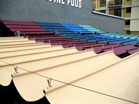 cable awnings and slide on wire canopies slide wire cable awnings diy crafts