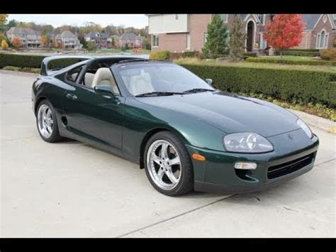 98 toyota supra for sale 1998 toyota supra test drive classic car for sale