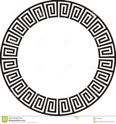 circular aztec design stock photo image of continuity