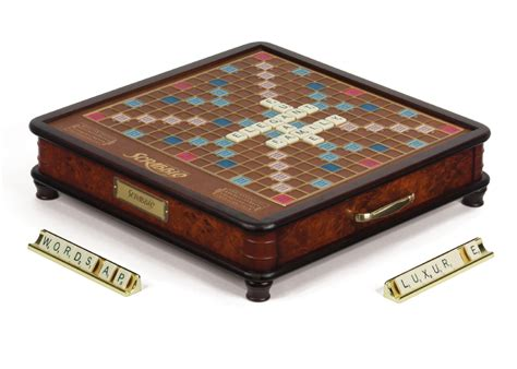 scrabble premier wood edition scrabble luxury edition board board messiah