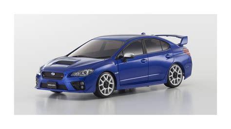 Mini Z Autoscale by Kyosho Autoscale Subaru Wrx Sti Bleue Ma020 Slot Car Union