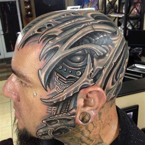 roman abrego tattoo what is the most cyberpunk you ve seen