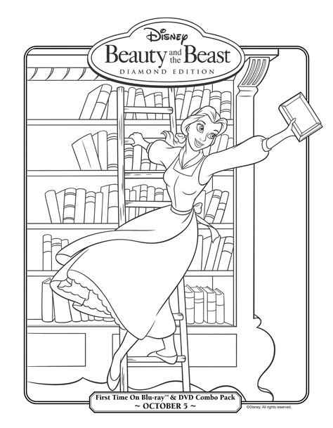 dibujos para colorear dibujos para pintar colorear y 19 dibujos de la bella y la bestia para colorear pintar e