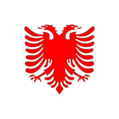 albanischer adler aufkleber adler