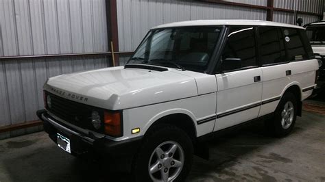 vintage range rover for sale 1995 land rover range rover classic for sale near colorado