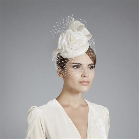 Wedding Hair With Small Veil by Celia Small Bridal Hat With Veil Foster