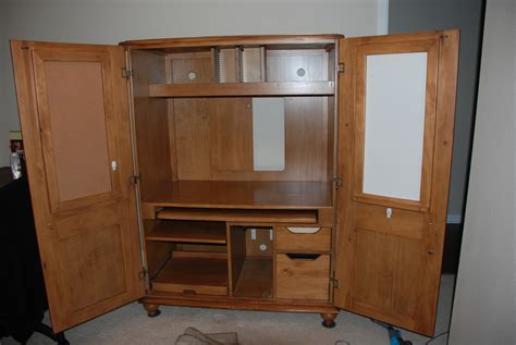 custom armoire cabinet pdf diy computer armoire woodworking plans download custom