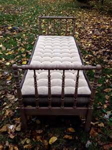 antique lind daybed tufted mattress free