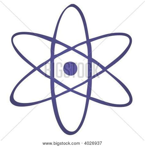 nuclear symbol for proton nuclear atom symbol clipart
