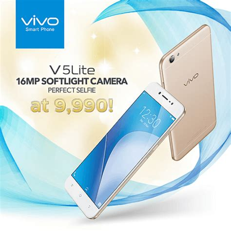 Lcd Vivo V5 Lite vivo v5 lite officially launched priced at php9 990