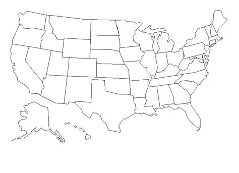 map of usa with states black and white black and white map united states of america pictures to