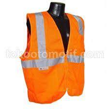 Rompi Safety Vest rompi jaring v light hijau 001 08 nankai baju rompi safety nama rompi jaring v light merk