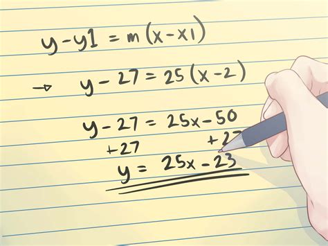 Find Line How To Find The Equation Of A Tangent Line 4 Steps