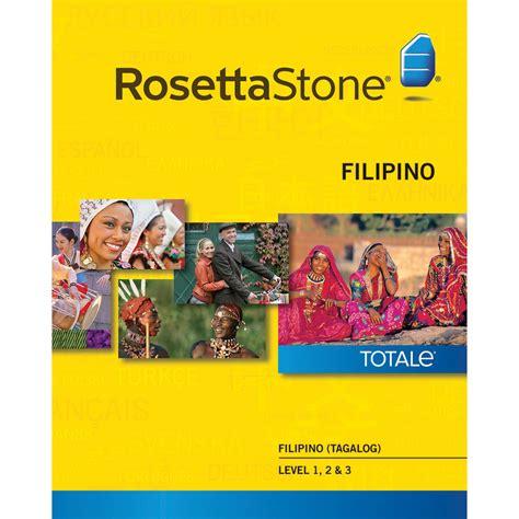 rosetta stone korean to english rosetta stone filipino tagalog levels 1 3 27779mac b h photo