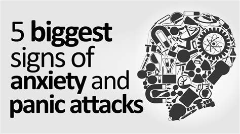 signs  symptoms  anxiety panic attacks youtube