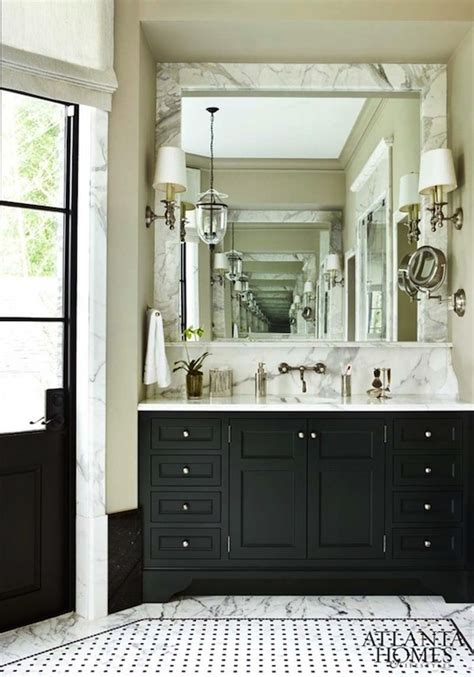 black and white bathroom vanity black bathroom cabinets with white marble countertops