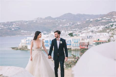 about weddings indigo copper wedding inspiration in mykonos greece