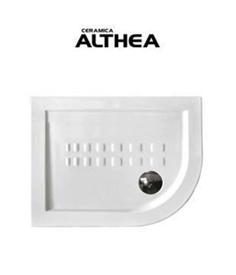 piatto doccia semicircolare 70x90 piatto doccia in ceramica althea semicircolare