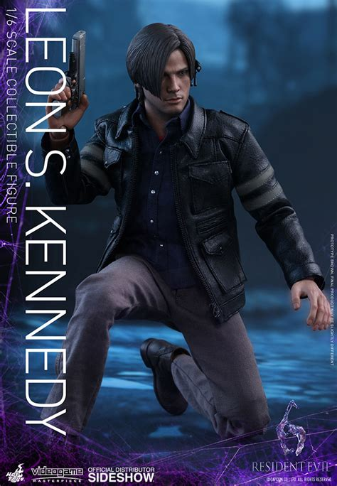 s kennedy figure resident evil s kennedy sixth scale figure by