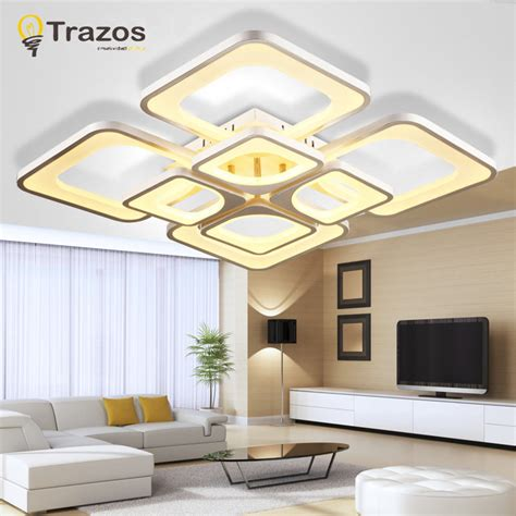 Modern Living Room Light Fixtures Modern House | 2016 surface mounted modern led ceiling lights for living