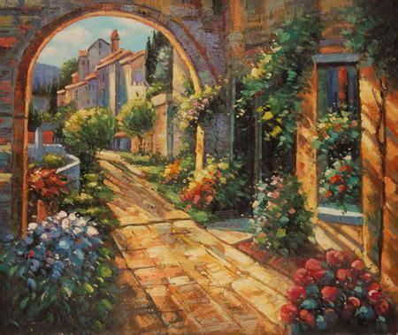 il giardino segreto autore falso di autore giardino segreto di impressionisti in vendita