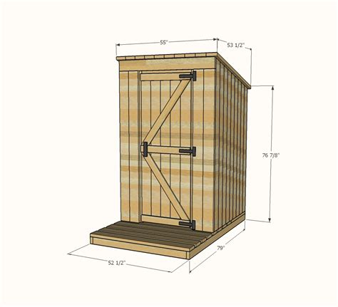 outhouse floor plans out house plans numberedtype