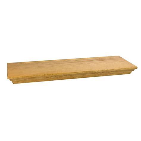 wallscapes woodridge 8 in x 1 3 4 in floating shelf kit