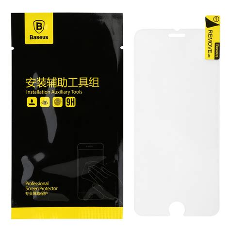 Hrx Iphone 7 Plus Original Healing Shield Tg Migh T Tempered Glass baseus sgapiph6 tg protective tempered glass screen protector for iphone 6 transparent free