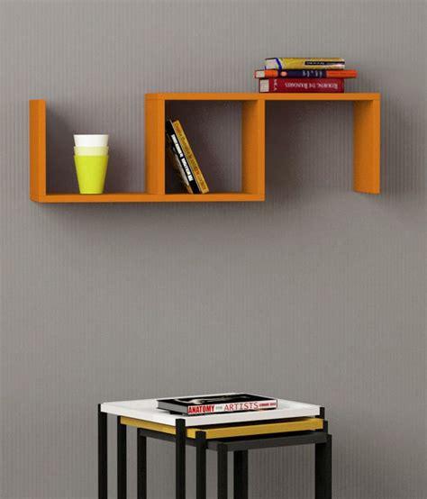 Orange Wall Shelf by Almelo Wall Shelf In Orange Buy Almelo Wall Shelf In