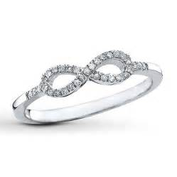 Infinity Ring Infinity Ring 1 10 Ct Tw Cut Sterling Silver